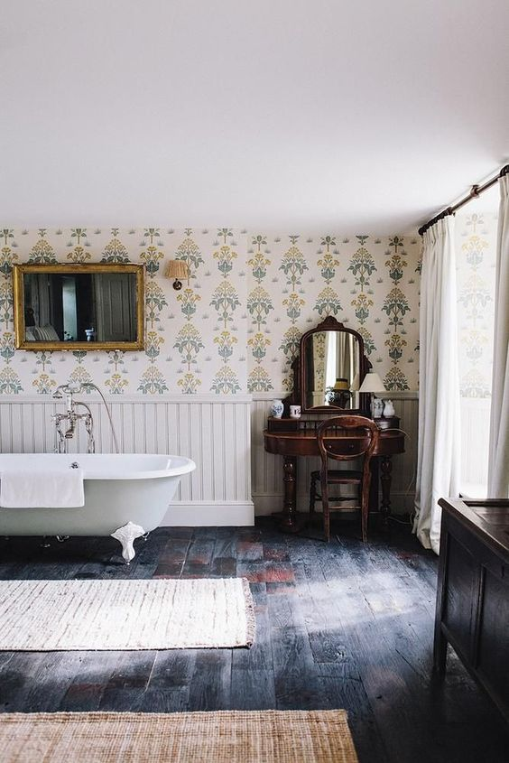Granny Chic and english interiors