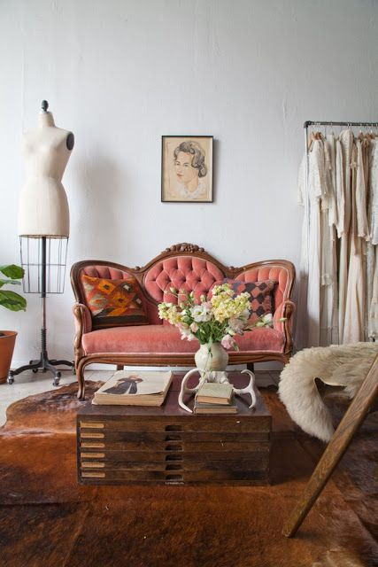 Granny Chic Interior Style.