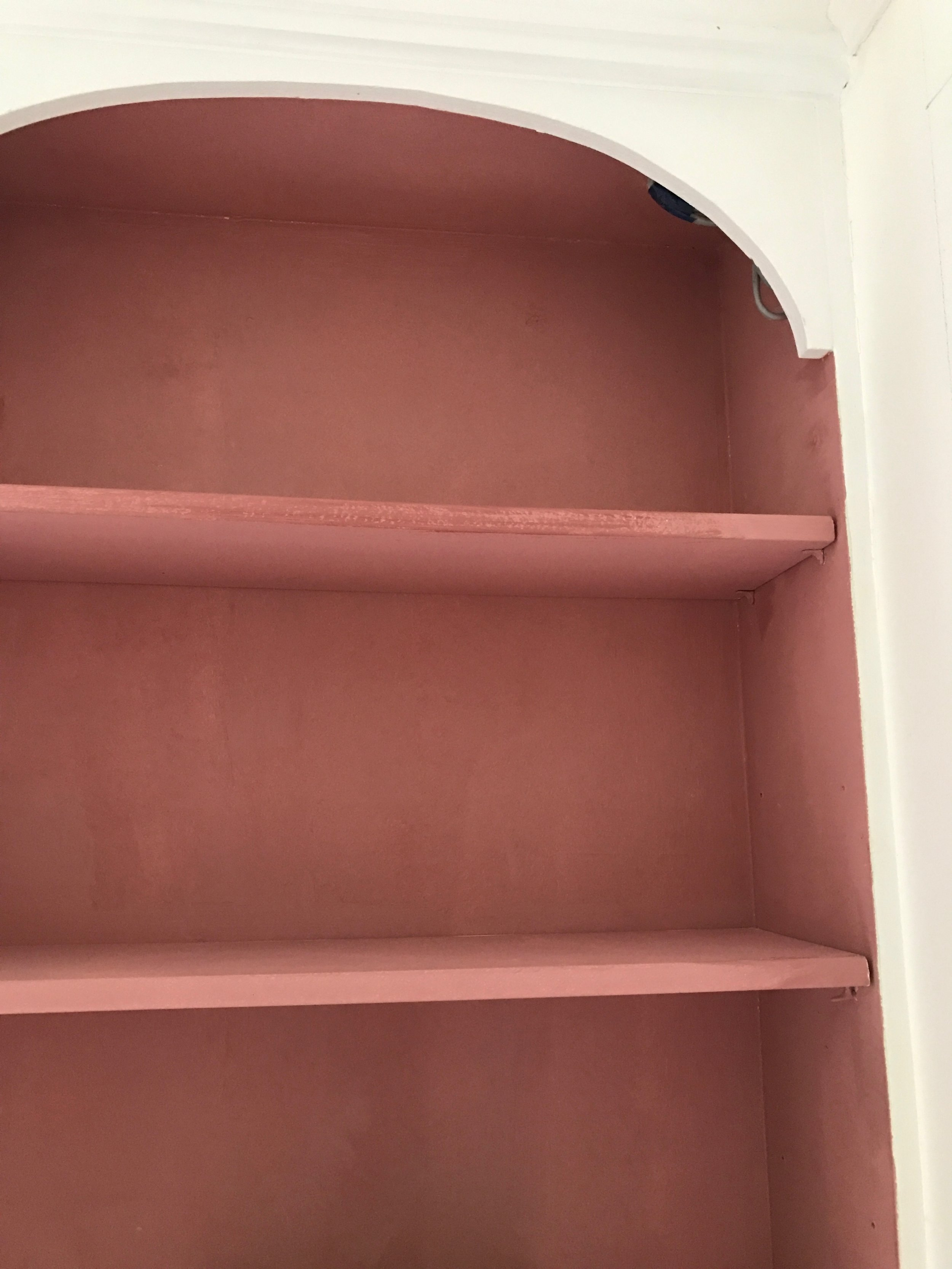 Camilla Pearl home interior image - terracotta shades for home colour inspiration.