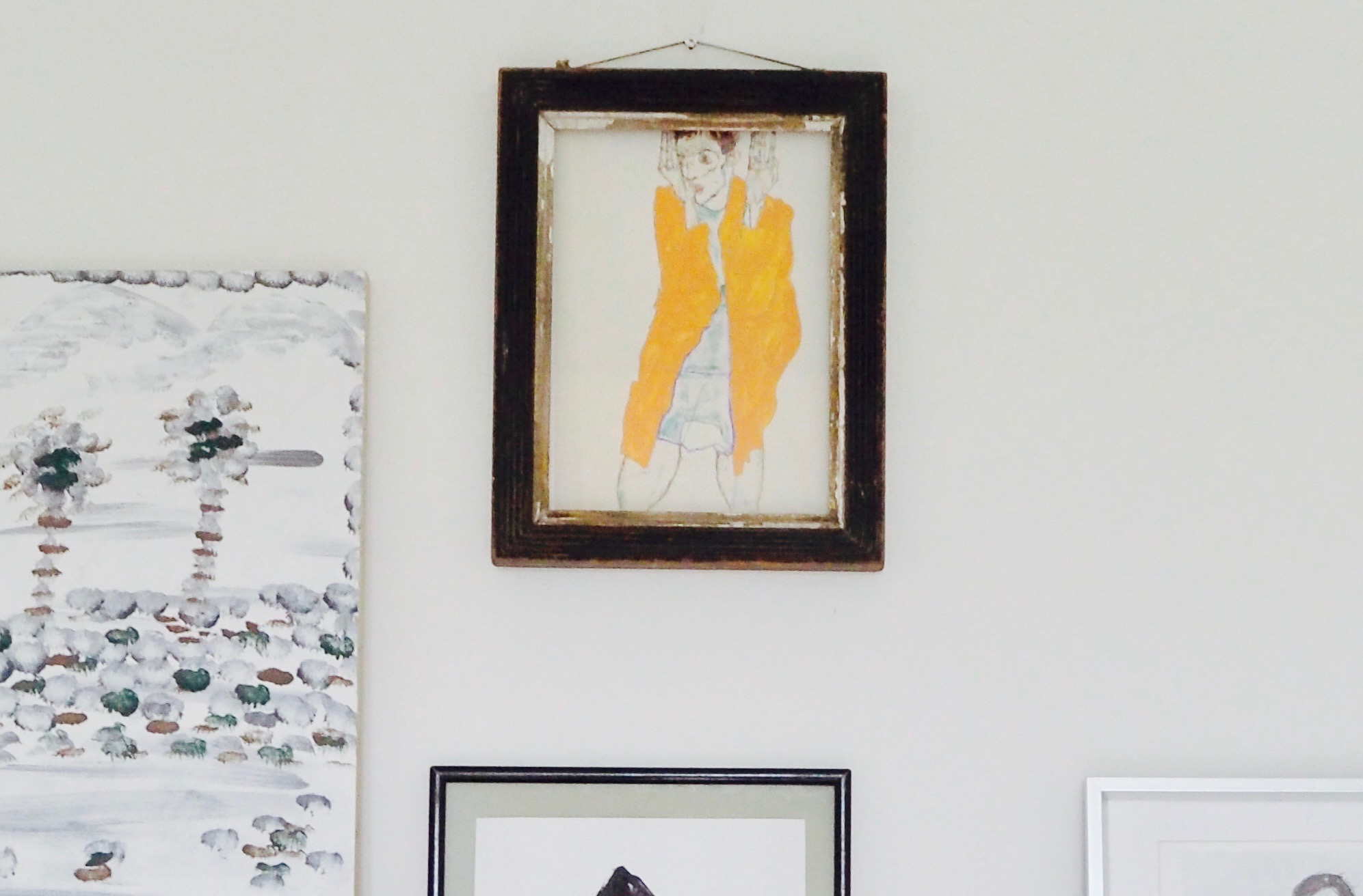 How to style your mantelpiece different ways to style the shelf with gallery wall by Camilla Pearl.