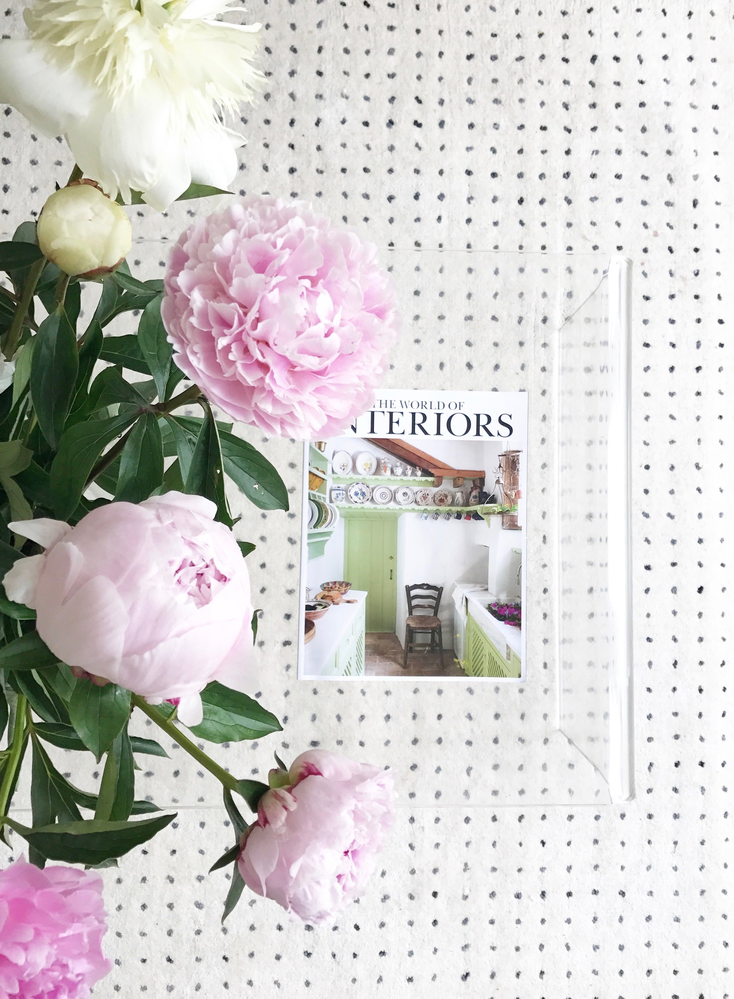 Peony flowers from Freddie's Flowers - a review by Camilla Pearl Blog.