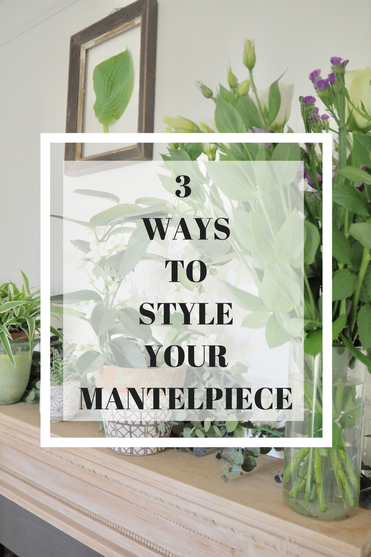 Different ways to style and dress your living room mantelpiece.