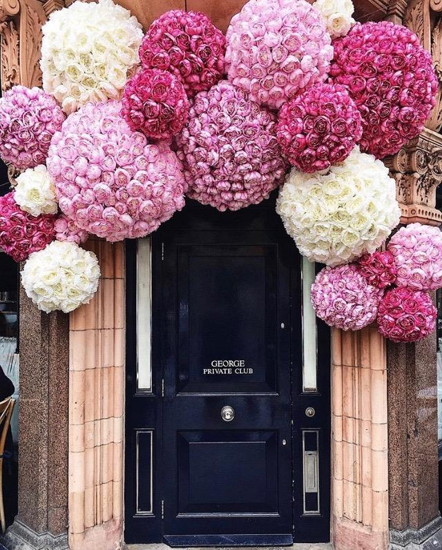 George Private Members Club for Chelsea in Bloom 2018