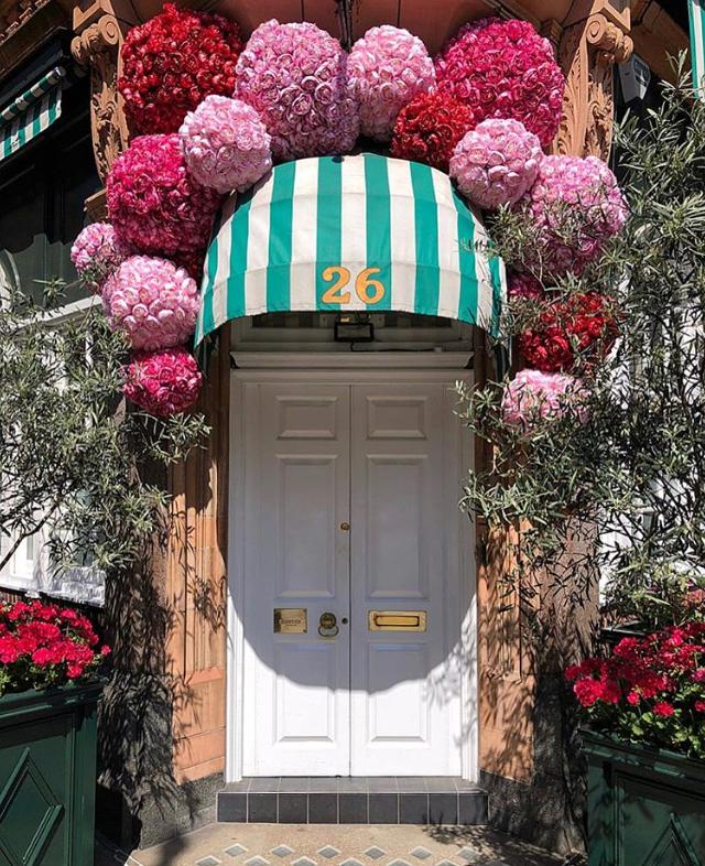Chelsea in Bloom 2018 amazing flower installations