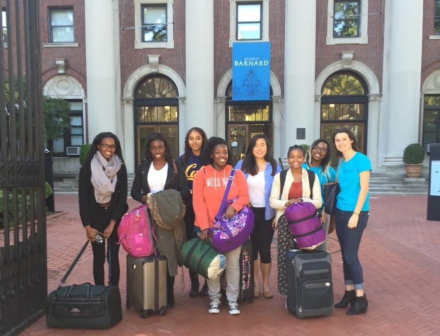 Students attend Barnard Bound 2015