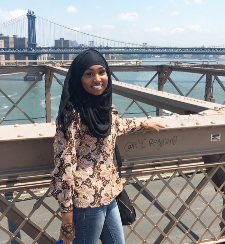 This was taken during a Brooklyn Bridge trip. (If you haven't walked on the Brooklyn Bridge, add that to your bucket list!)