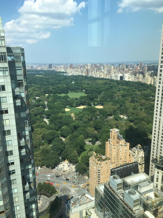 The view from Hearst Tower, where I've interned twice