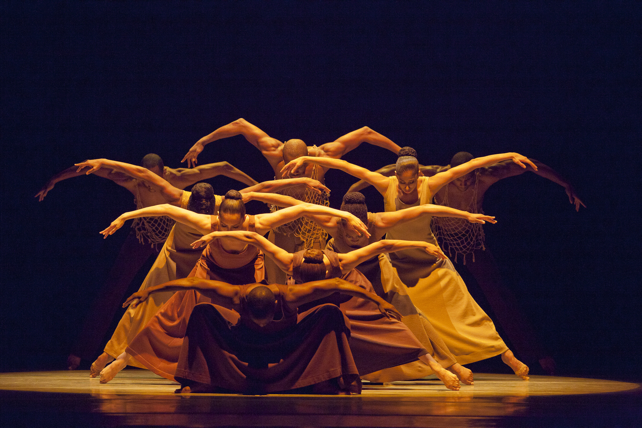 """""""Revelations,"""" choreographed by Alvin Ailey"""