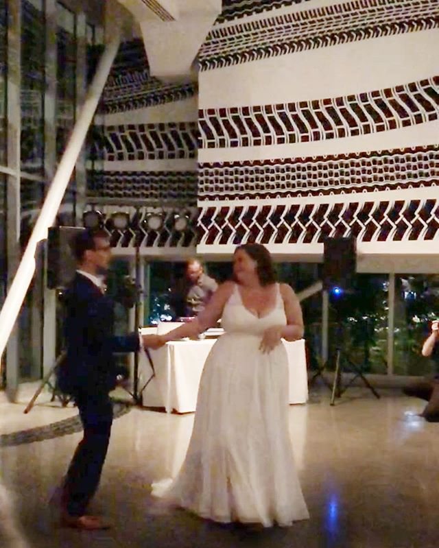 It was a perfect blur. #wowcoolwedding