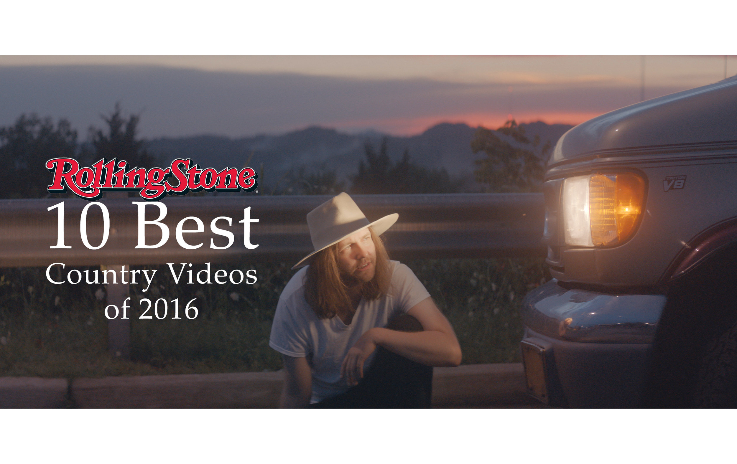 Rolling Stone's 10 Best Country Videos of 2016 - ALT's 'Little Movies' makes the list.