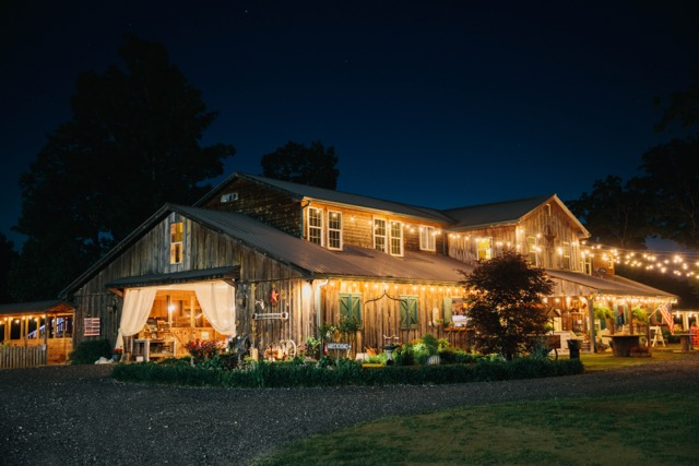 Cold Creek Farm   Dawsonville's Premier wedding venue. At Cold Creek Farm, you will find 16 rolling acres with a country stream, a barn and a menagerie of four legged friends, all waiting for your perfect wedding (or reception, corporate, church or private party.)