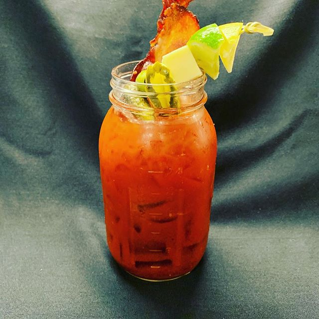 Early morning taste testing of the Easter Brunch Bloody Mary, we still have availability Sunday 10am-3pm, visit opentable or call us at 6175763000, #brunch 🐣 #easterbrunch