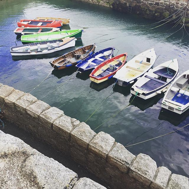 Love the little #boats of #dalkeyisland #sealife #coolsummer #colimoreharbour