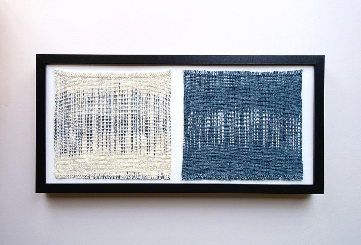 Twofold   Silk fibres 450 x 200 mm 2015