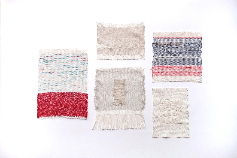 Sketches   Assorted fibres 2015
