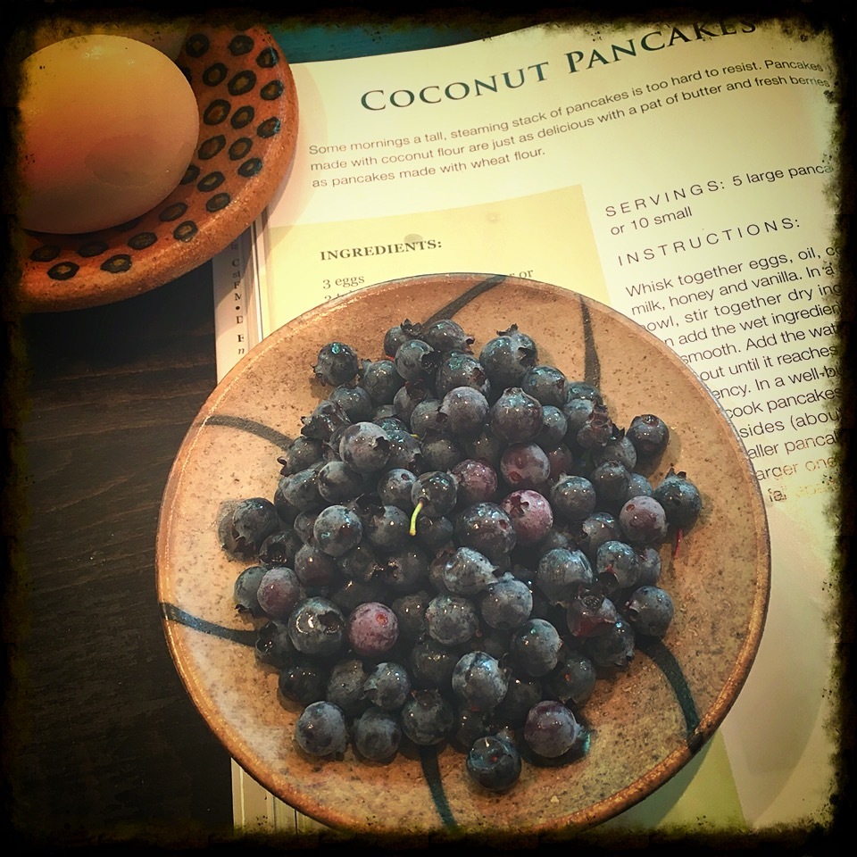 Coconut Pancake recipe from the  Primal Blueprint Cookbook .