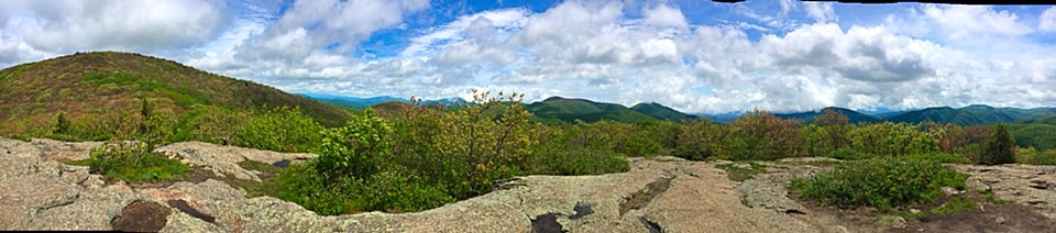 View from Spy Rock, en route to the Priest.