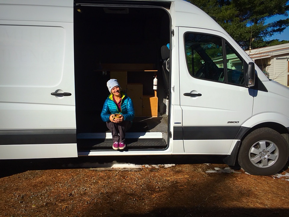 me in the van.JPG