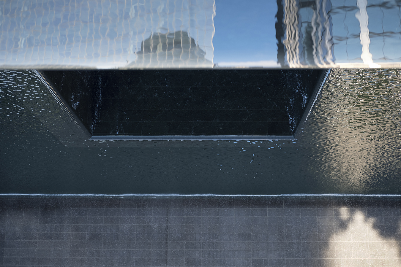 Trickle Up (Fountains of Lower Manhattan, National September 11 Memorial)