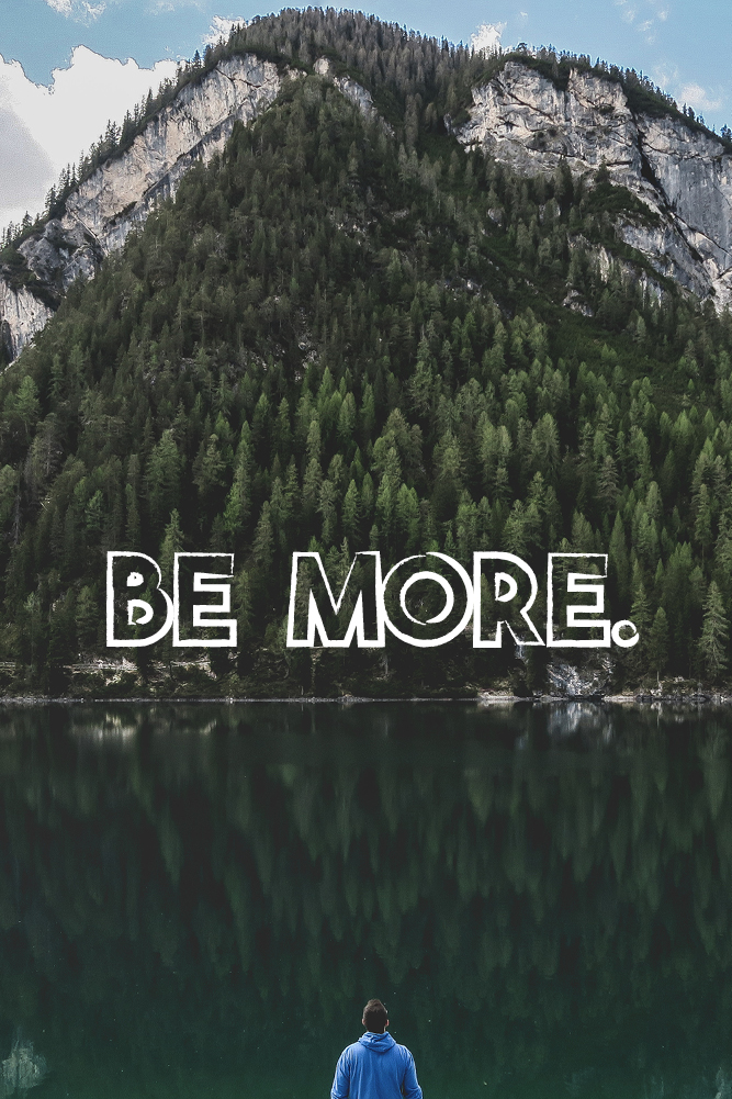 Be More - Mobile