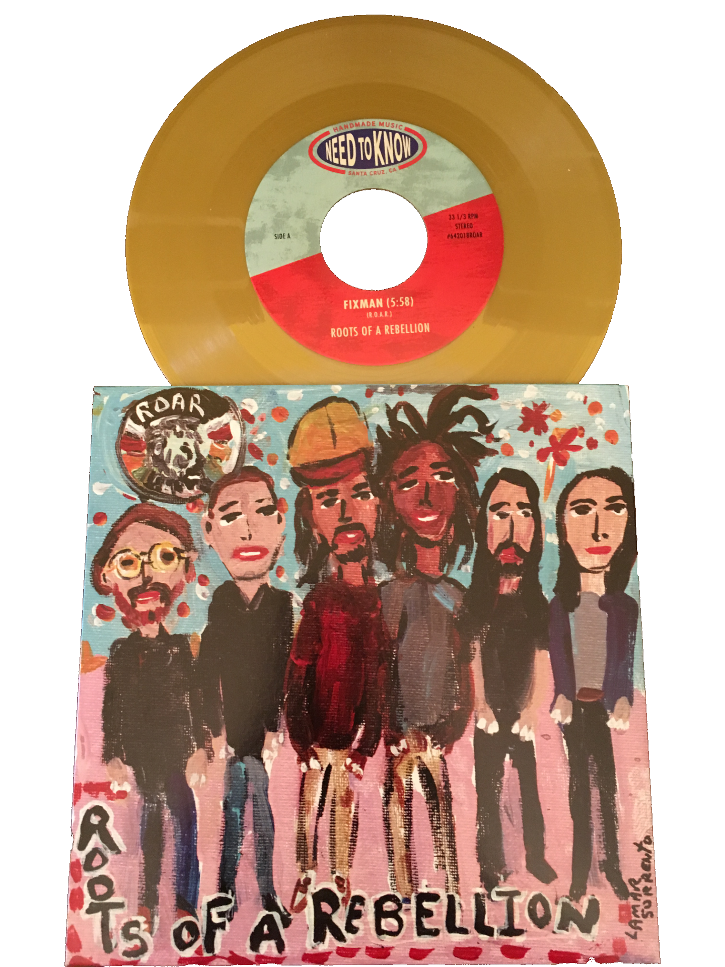 Vinyl by  Roots of a Rebellion