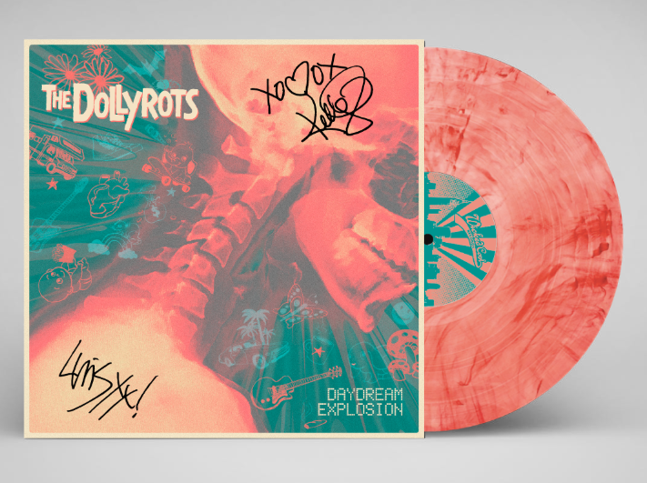 Colored vinyl by  The Dollyrots