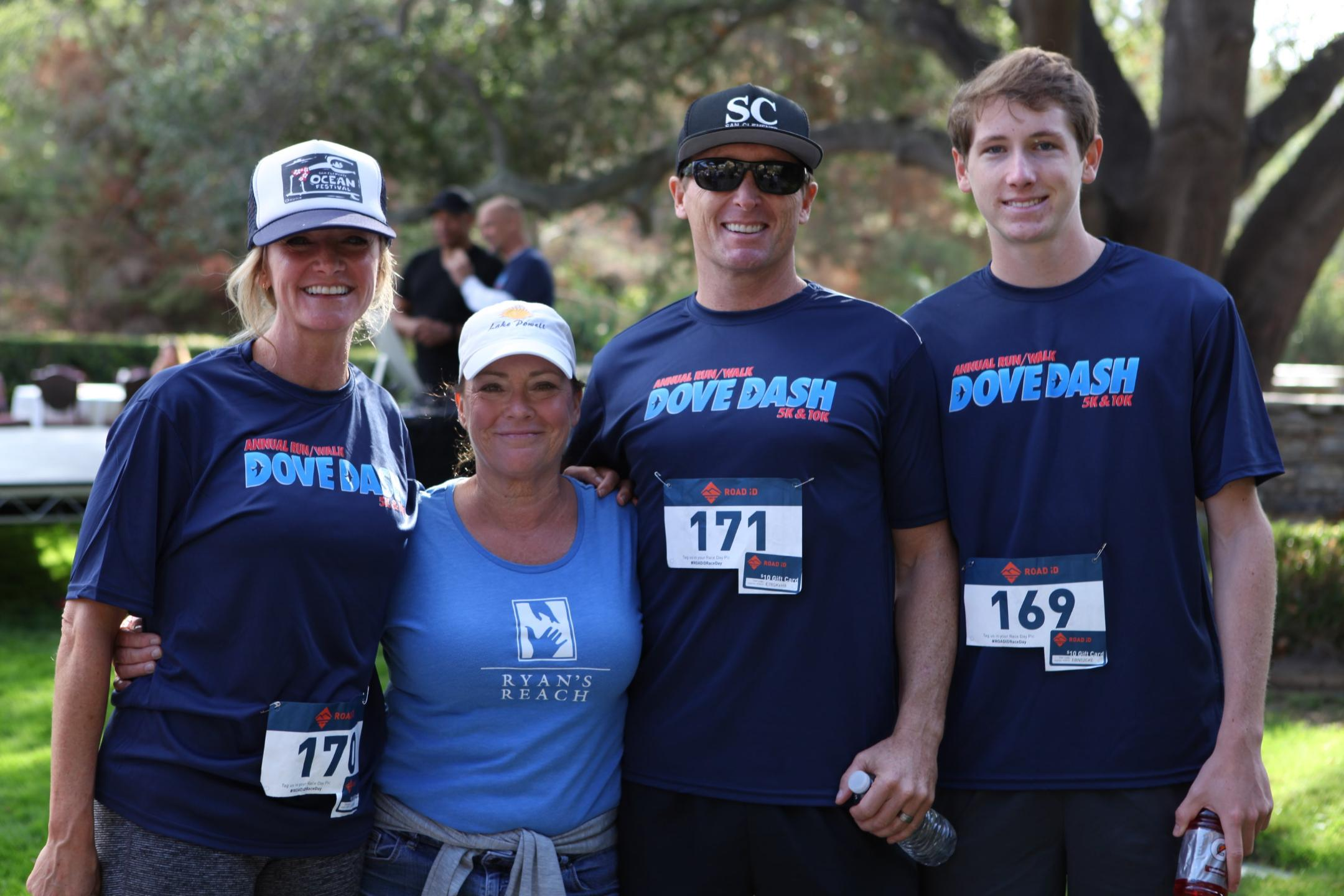 Laura Lee Fekete (2nd from left)