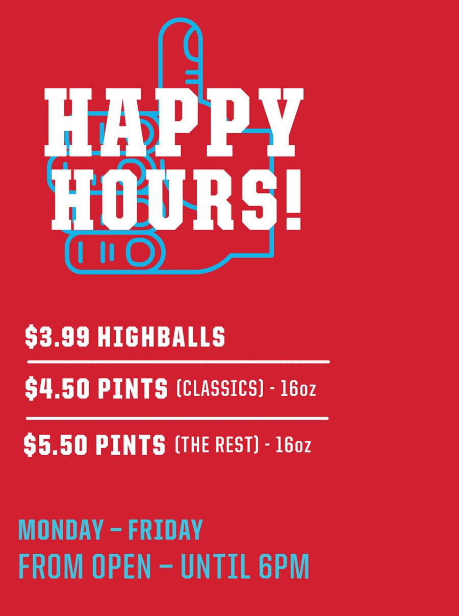 West Winnipeg Happy Hours