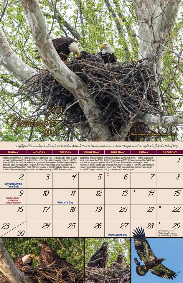 2014 Garden of Eagles Calendar