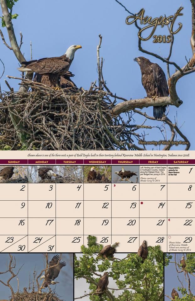 2015 Garden of Eagles Calendar