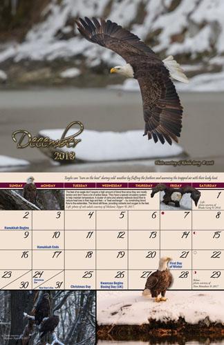 2018 Garden of Eagles Calendar