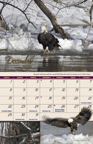 2019 Garden of Eagles Calendar