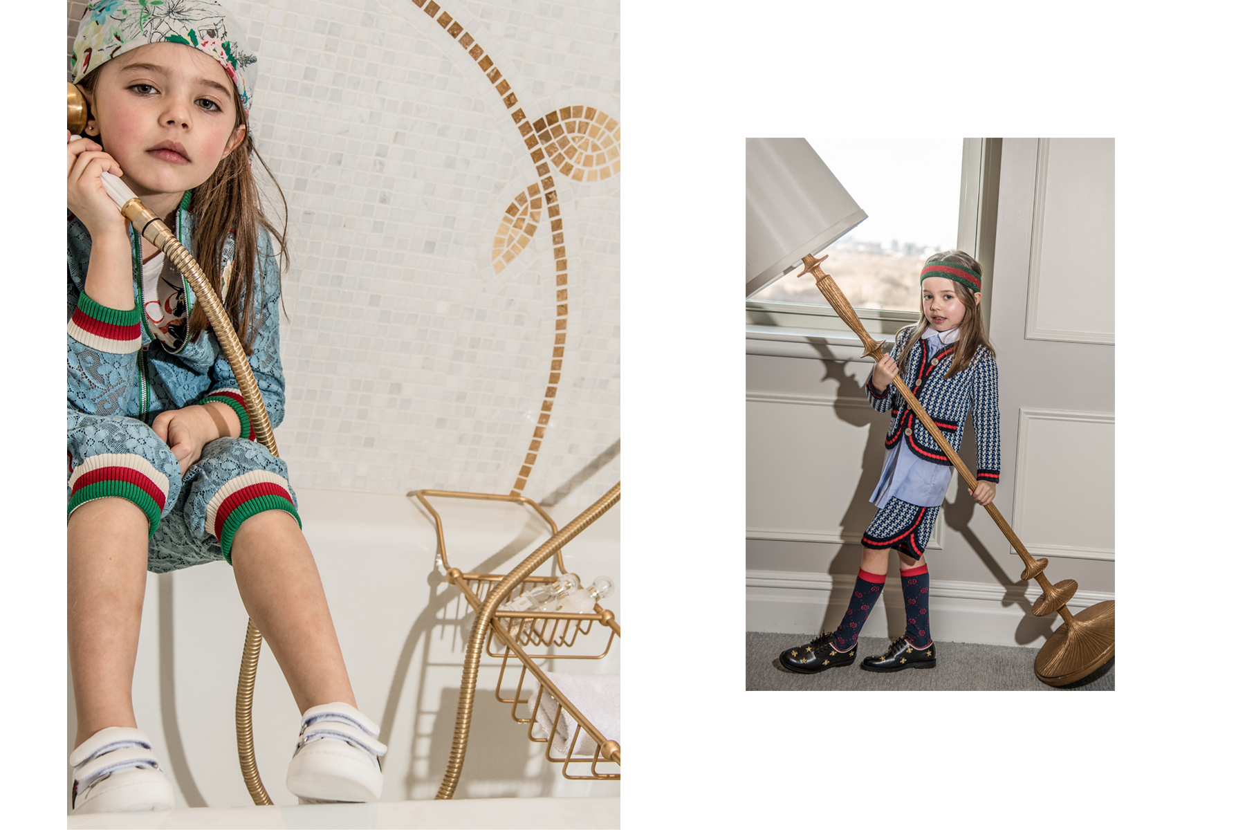 """Gucci Girl"" Junior Style London"
