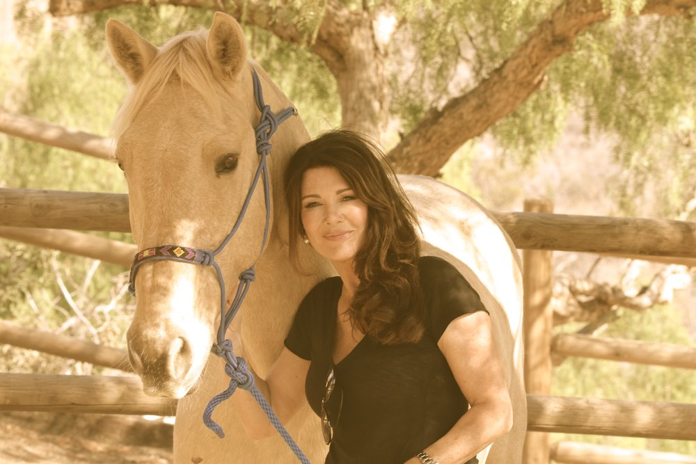 Lisa Vanderpump with Buddy