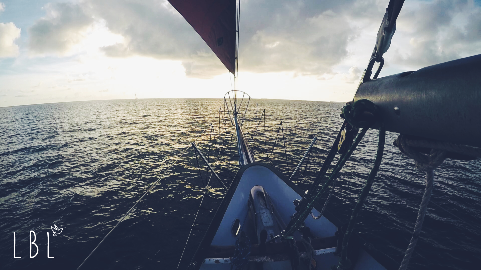 Taken on a spontaneous sunset sail during a weekend in Key West