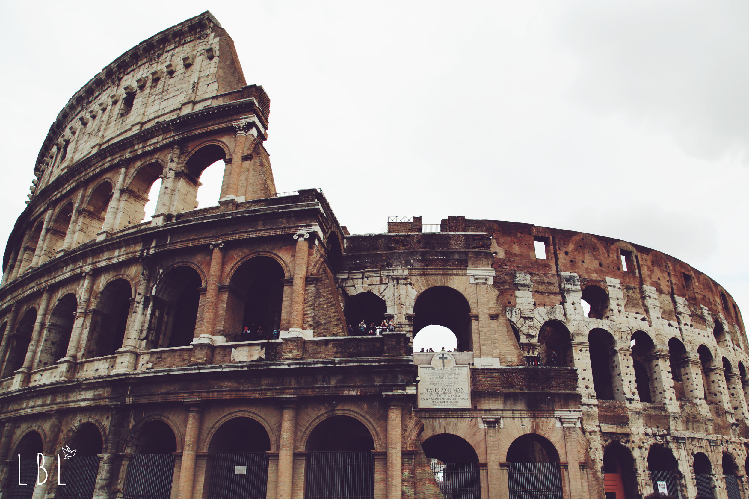 Also taken by Chelsea, a fantastic view of the Colosseum