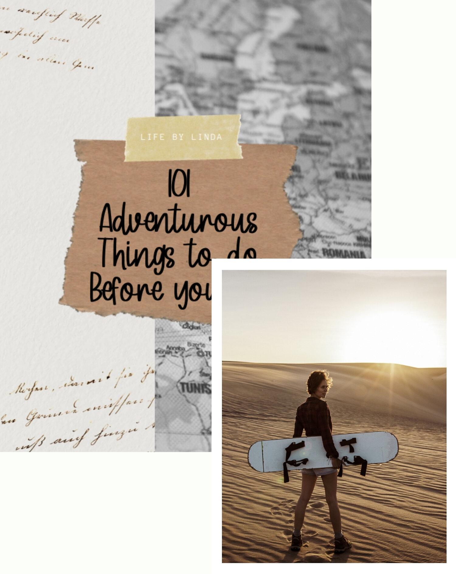 Lifebylinda 101 Adventures Bucketlist Life By Linda