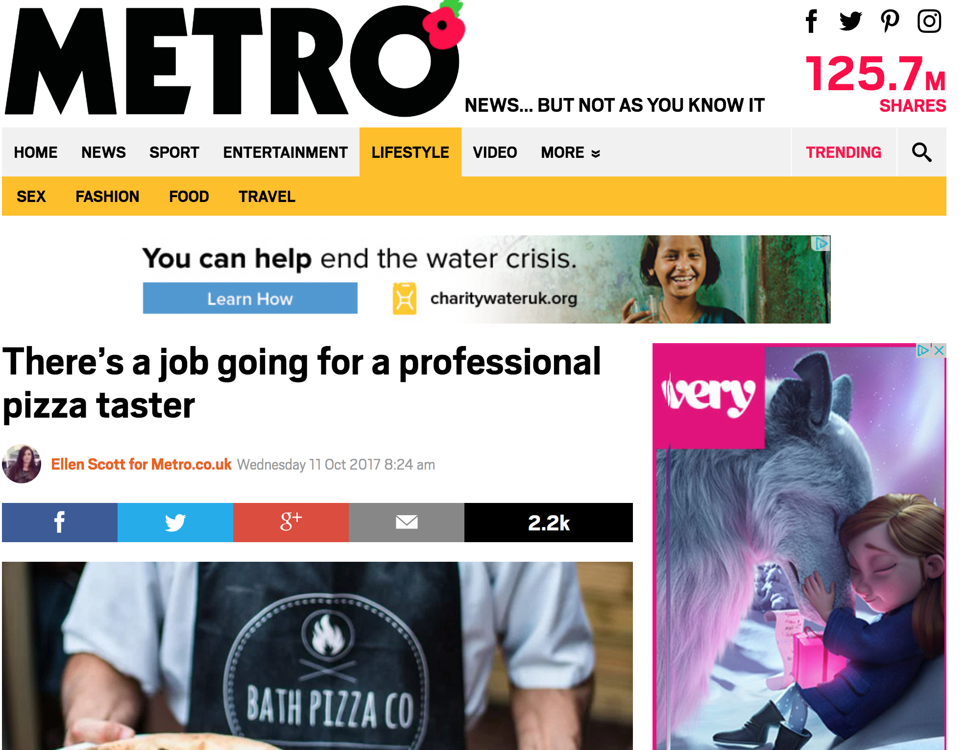 Metro → -