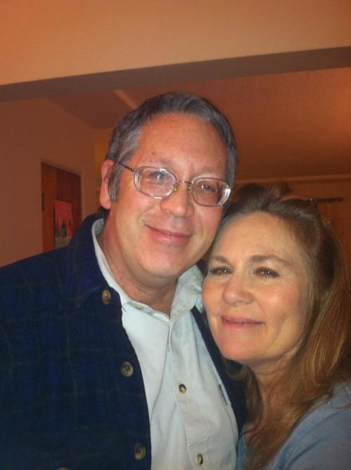 Emily with her husband Jim