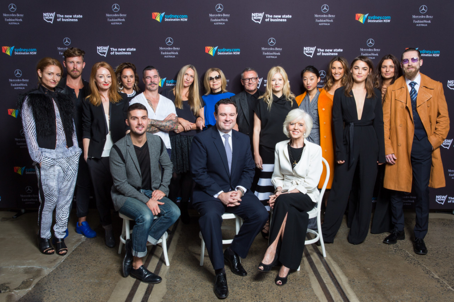Faces of NSW Fashion - MBFWA : Faces of NSW Fashion MBFWA Carriageworks Sydney