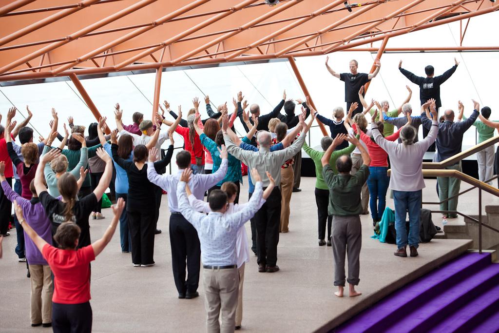 Power and Serenity Tai Chi seminar