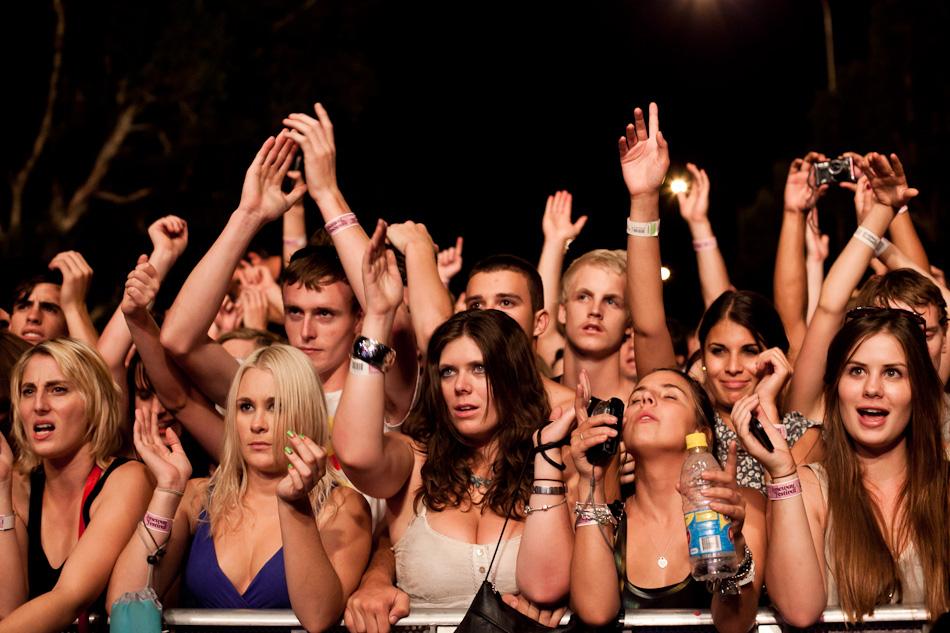 Perth Laneway Festival 2011
