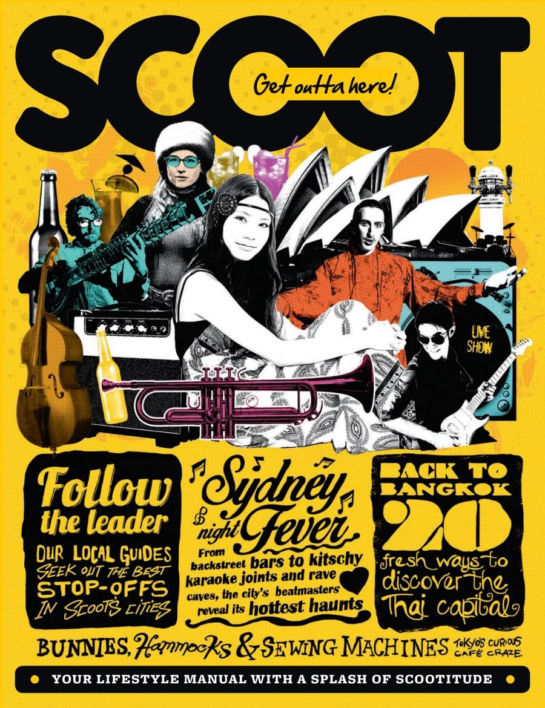 Scoot Magazine cover