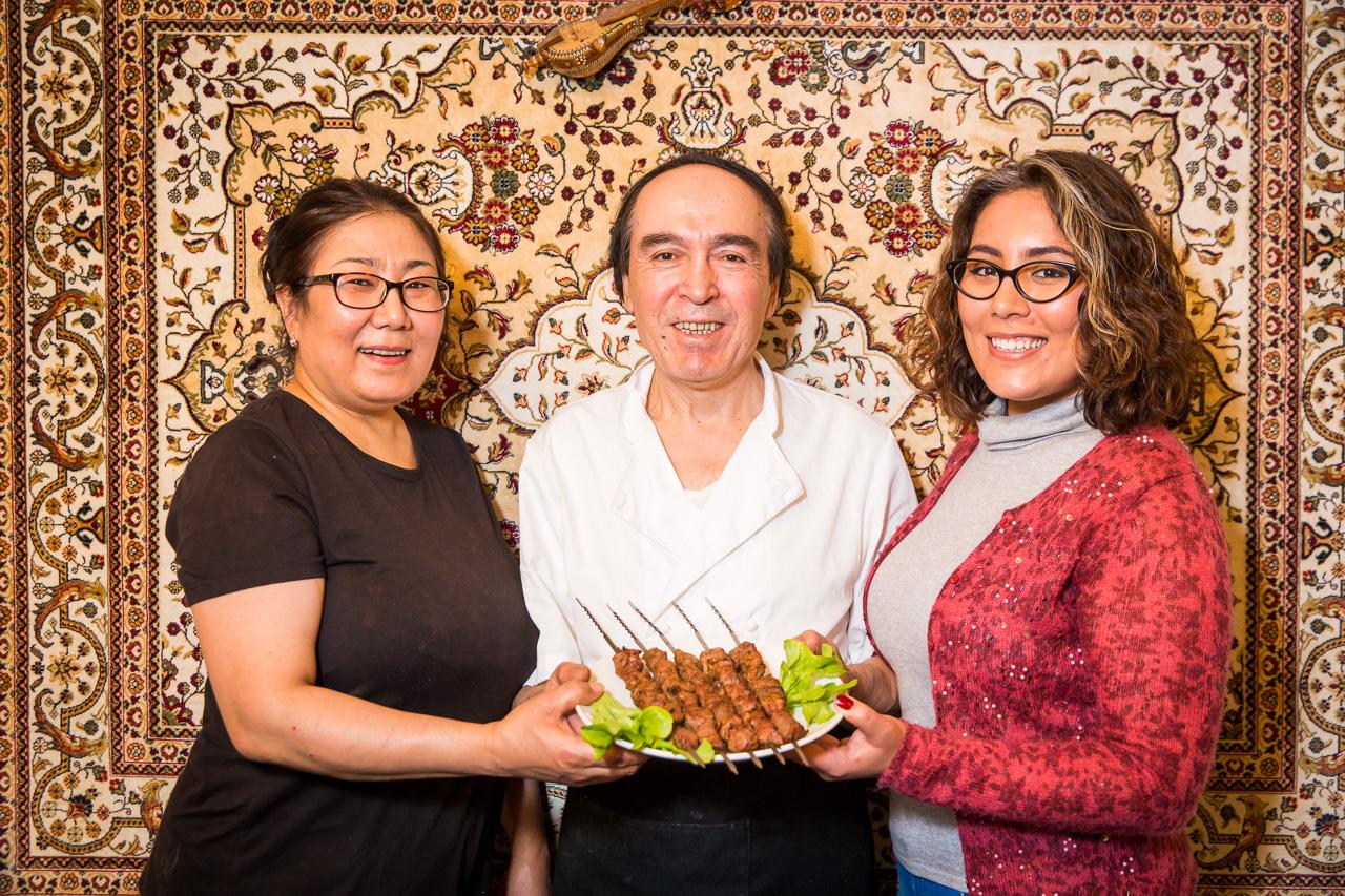Abraham Abduwali - Kiroran Silk Road Uygur Restaurant