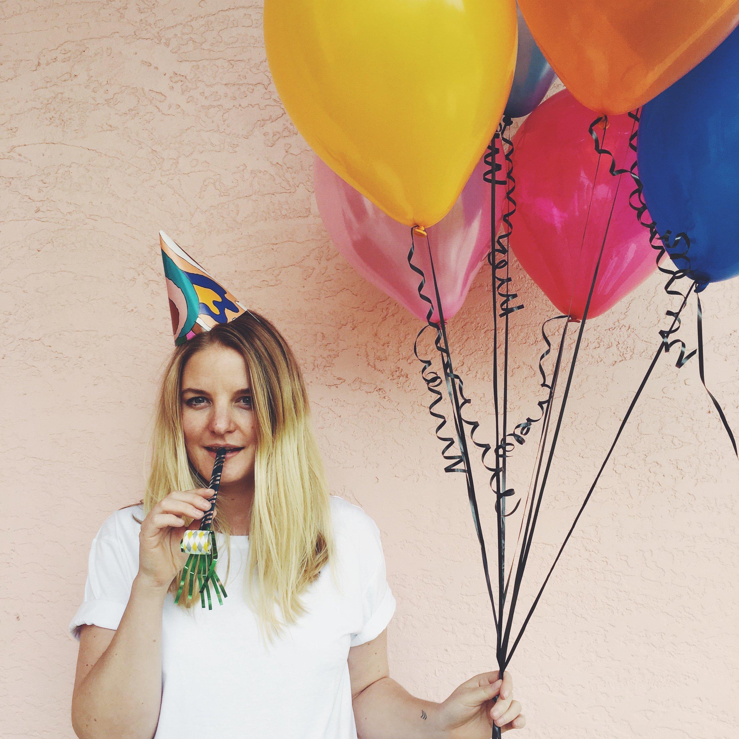 good nights / first birthday social media promo