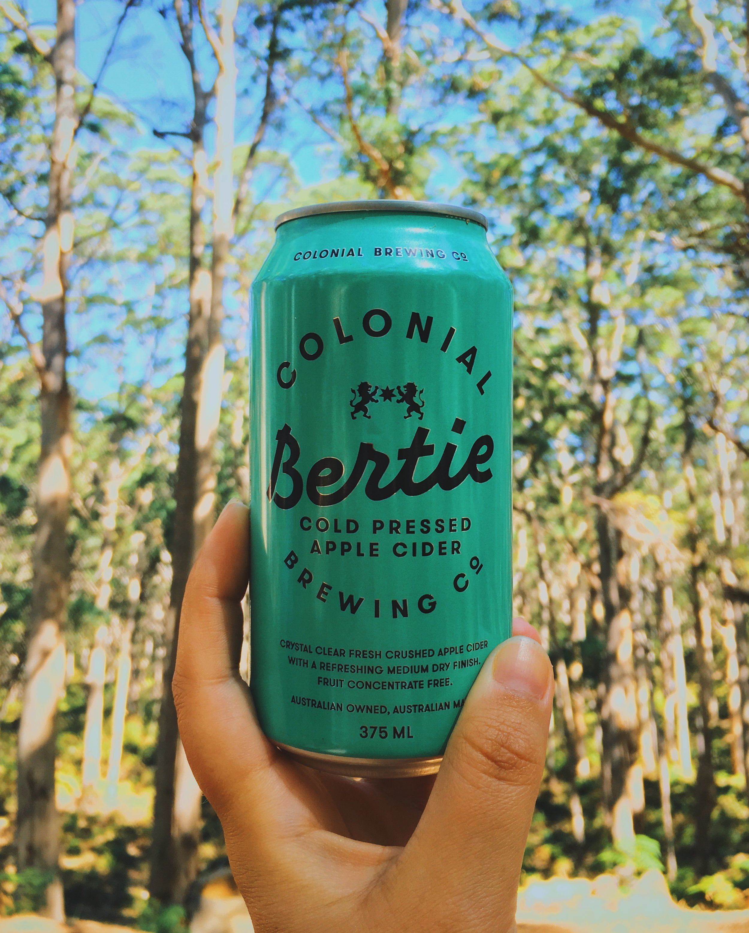 bertie cider / featured on bertie social media