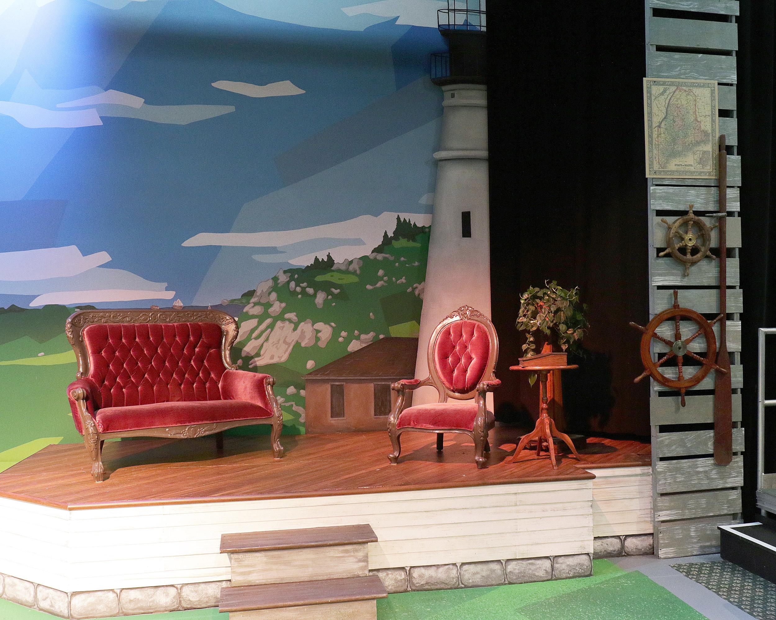 Sarah, Plain and Tall  by Joseph Robinette  Kate Goldman Children's Theater at the Des Moines Playhouse  (Allison McGuire, Director; Kevin Shelby, Scenic Designer;Susanna Douthit, Costume Designer; Virgil  Kleinhesselink, Lighting Designer)