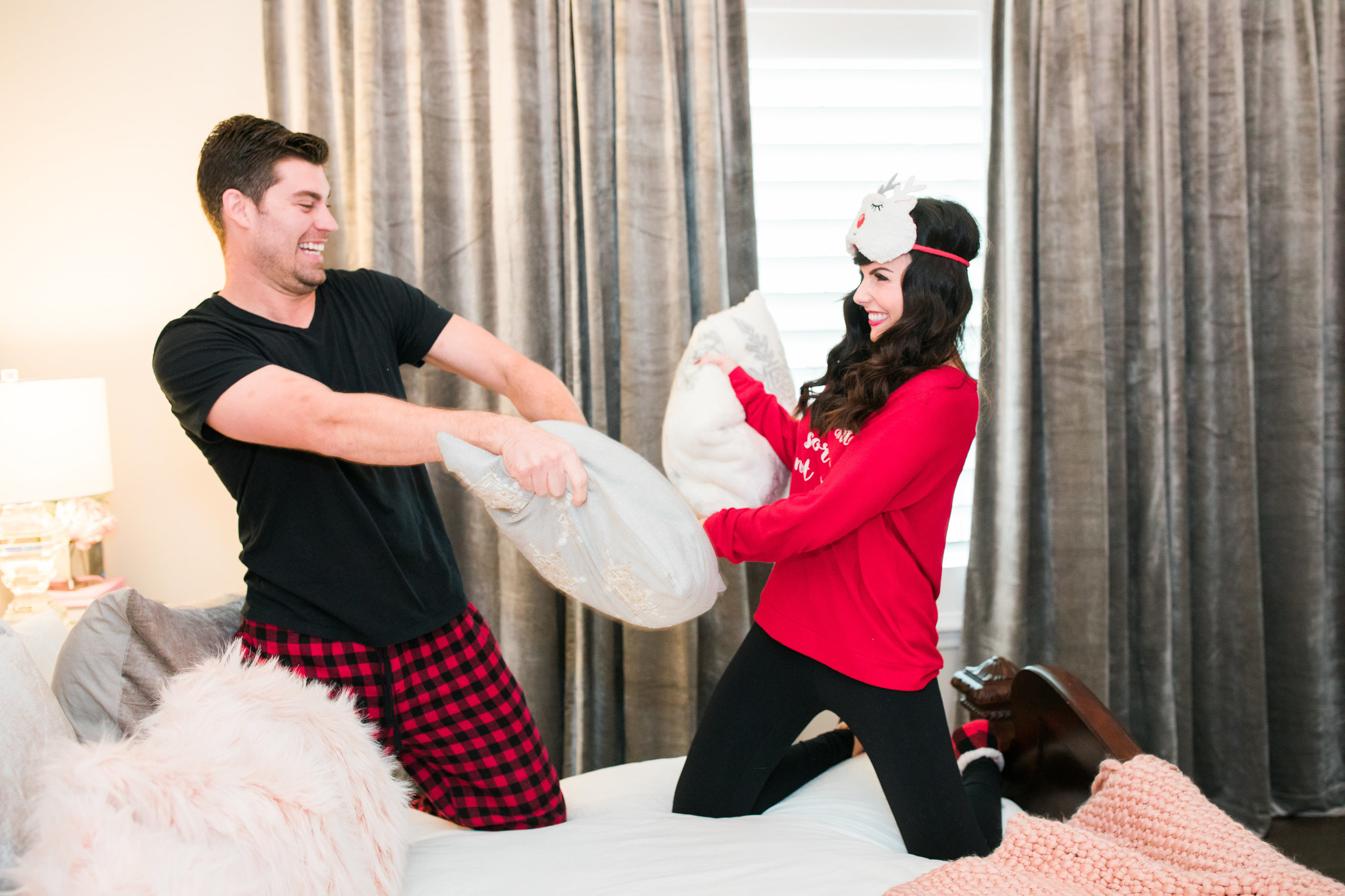 christmas pj pillow fight.JPG