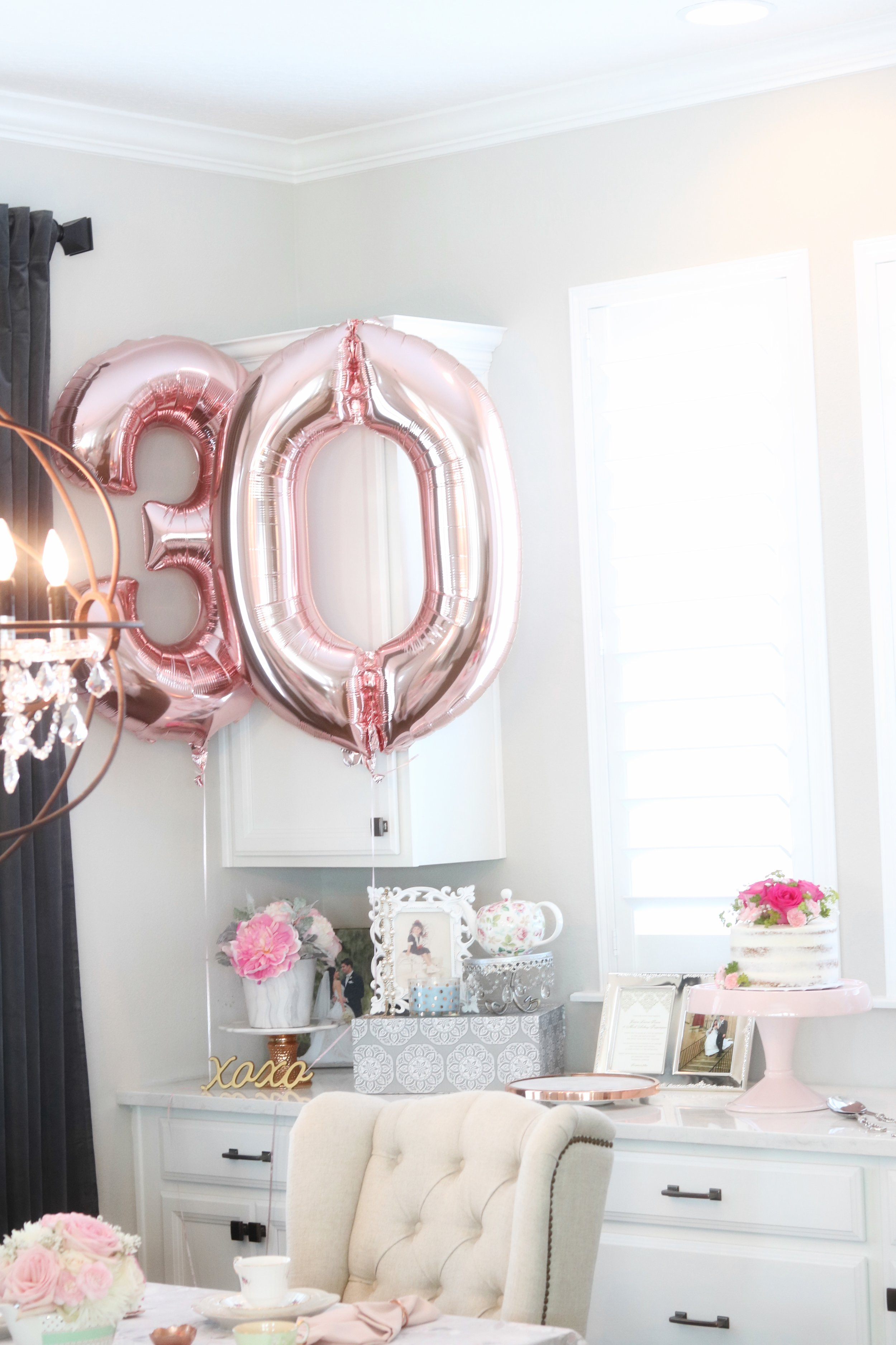 tea party rose gold 30th baloons.jpg