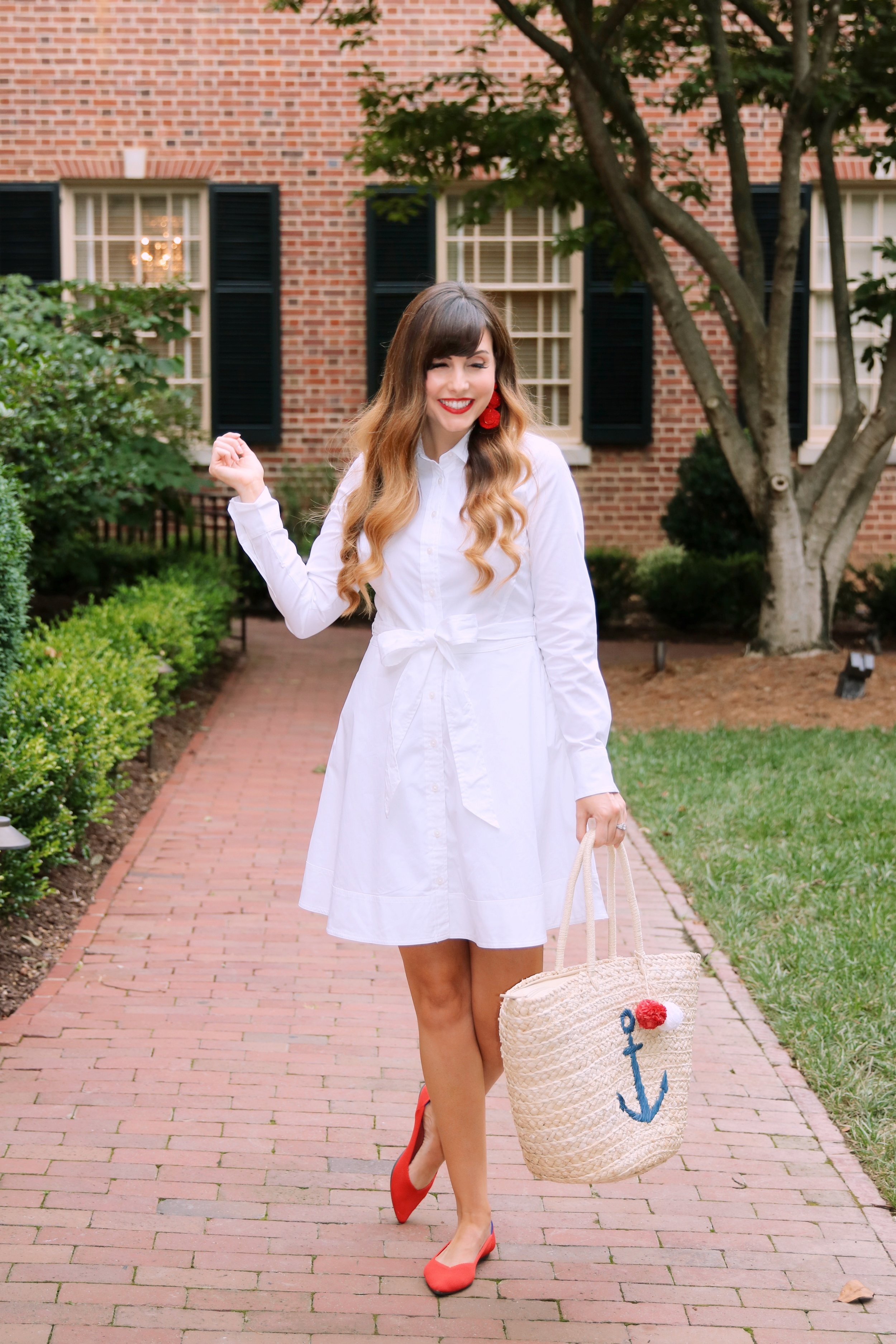 white dress red rothys shoes.JPG